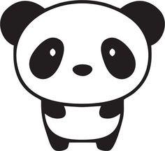 découpe Panda pour scrapbooking carterie.... : Embellissements par didine45
