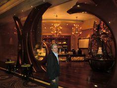 Admiring the elegant Payard Patisserie at Caesar's Palace in Las Vegas