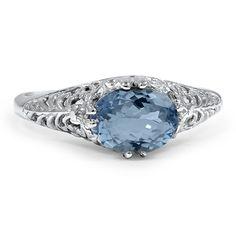 The Daelan Ring | Art Deco