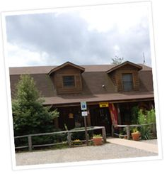 Asheville West KOA - Candler, NC. Tents and RV sites, cabins and Kamping Lodge.