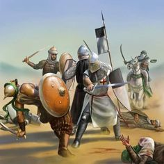 From Medieval Wars & Battles.