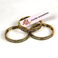 Adoramos pulseiras estilosas e fashion! Encontre em nossa loja #pulseira #moda…