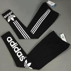 """""""Adidas"""" Letter Print Women Stretch Leggings Sweatpants Exercise Fitness Sport Pants Trousers from Your Closet. Milan Fashion Weeks, New York Fashion, Teen Fashion, Womens Fashion, Cheap Fashion, Fashion Black, Adidas Outfit, Adidas Shoes, Nike Sneakers"""