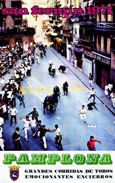 San Fermín 1971 Javier Cejuela