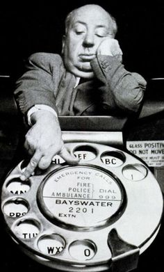 """doyoulikevintage: """"Alfred Hitchcock - Dial M for Murder """""""