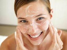 kokosové mléko a soda bikarbona- čistič tváře