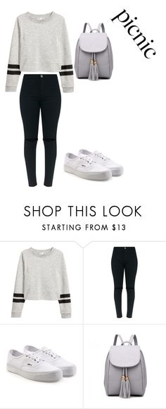 """""""picnic"""" by lidabecanova ❤ liked on Polyvore featuring Vans"""