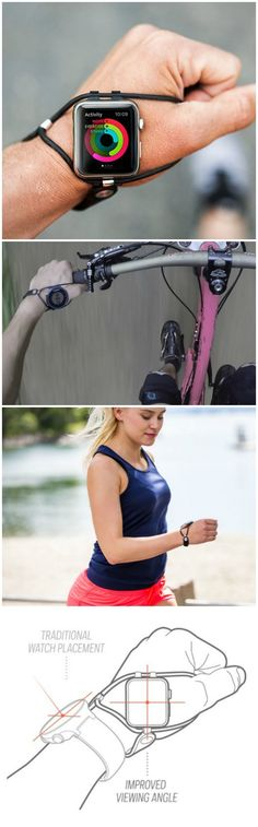 The revolutionary Shift Band from EdgeGear is the best watchband for runners and cyclists! Easy to read at a glance without breaking form.
