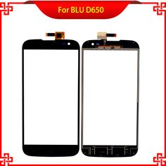 Replacement 6 Inch Touch Screen Digitizer  For BLU D650 650 Black Color High Quality Mobile Phone Touch Panel Free Tools #Affiliate