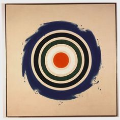 Kenneth Noland, Whirl, 1961