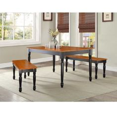 Long Large Wooden Dining Seat Bench Table Bench Kitchen Furniture Benches Stool  #LongLargeWooden