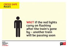 Download this presentation with notes to raise awareness of railway safety in your secondary assemblies for #WorldSafetyWeek