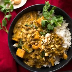 Coconut Curry Sauce - keto without pumpkin and lentils