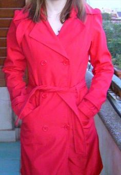 Impermeabile Primaverile Rosso / Red Coat for spring