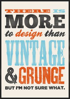 #vintage #type #design