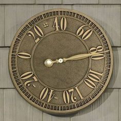 Just Found This Outdoor Clock Thermometer Double Sided