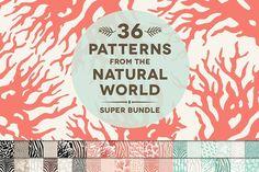 36 Natural Animal Pattern Bundle by Blixa 6 Studios on @creativemarket