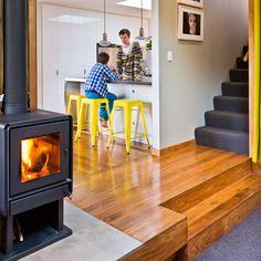 Bosca Limit 380 wood fire in Wellington house