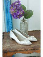 16fddfb59cc RAINBOW CLUB Rainbow Club April Kitten Heel Court Shoe Ivory Size 10. Satin  Wedding ...