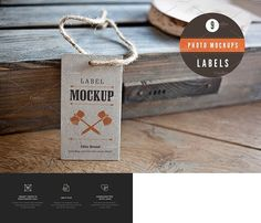 9 Label Mockups Labels - 9 photo mockups - Product Mockups Like Save Labels - 9 photo mockups - Product Mockups - 1 Labels - 9 photo mockups - Product Mockups - 2 Labels - 9 photo mockups - Product Mockups - 3 Labels - 9 photo mockups - Product Mockups - 4 Labels - 9 photo mockups - Product Mockups - 5 Hello Creatives! We are presenting you 9 unique photo mockups perfect to present branding, your logo design, font, typography, lettering, etc. These mockups are very easy to use thanks to…