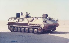 Abandoned Iraqi 1V13 seen at Kuwait after Gulf War 1991, picture by French mine cleaners.