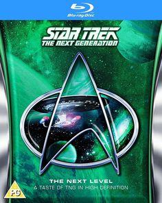 STAR TREK THE NEXT GENERATION BLU-RAY : THE NEXT LEVEL w/PATRICK STEWART