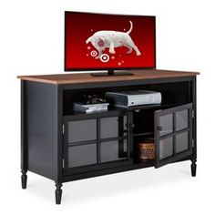 Entertainment Center Grey From Target