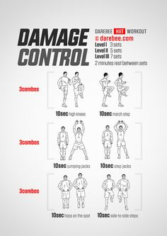 Damage Control Workout - Perfect for when you need to atone for that extra slice of cake!