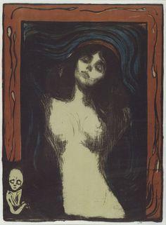 Madonna - Edvard Munch - MoMA New York City