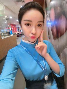 【China】 Xiamen Airlines cabin crew / 厦門航空 客室乗務員 【中国】 Airline Cabin Crew, Airline Uniforms, Xiamen, Military Police, Seating Charts, Flight Attendant, Tight Dresses, Beautiful Women, Pictures
