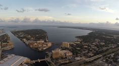 Davis Island, Tampa, Florida shooting from 600ft by Tampa Aerial Photographer http://celebrationsoftampabay.com/aerial-video-tampa/
