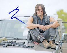 Norman Reedus Autographed Signed 8x10 Photo Walking Dead Daryl Dixon
