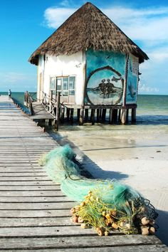 Isla Holbox, Mexico: In Yucatán, an ecotourism gem emerges. / #32 on @nytimes's list of 52 Places to Go in 2016 (Photo: John Burcham for The New York Times)
