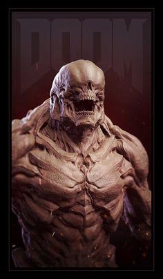 ArtStation - Doom Hellknight, Jason Martin