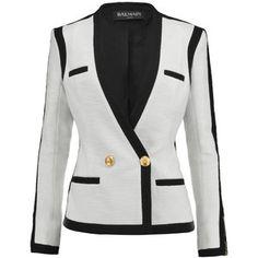 Balmain Woven cotton blazer