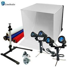 """LimoStudio 24"""" Table Top Photography Studio Light Tent Kit in a Box - Photo New #DoesNotApply"""
