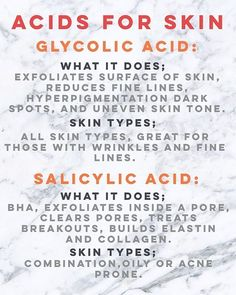 PART1/ Add one of these acids to your skincare routine, you wont regret it…