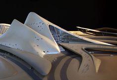 Dubai Opera House by Zaha Hadid [Zaha Hadid: http://futuristicnews.com/tag/zaha-hadid/]