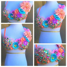 Peach EDC Bra By: Electric Laundry