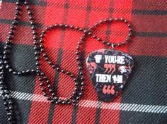 sleeping with sirens guitar pick necklace - - Yahoo Image Search Results