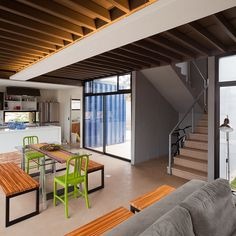 3 Bedroom Shipping Container Home Design, Brazil Cargo Container Homes, Shipping Container Home Designs, Container Buildings, Container Architecture, Container House Design, Container Cabin, Shipping Containers, Sustainable Architecture, Prefab Homes