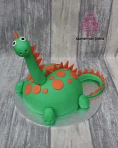 Taart dinosaurus / cake dinosaur