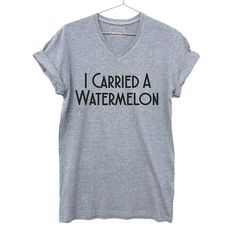 I Carried A Watermelon, Dirty Dancing Shirt, funny casual v-neck t-shirt. Super comfy medium weight tee, Funny Best Friend Gift Great gift for a Dirty Dancing fanatic! Girls nigh in tee. ** VIP: Unisex Sizing, Ladies Shirts run quite large, Ladies, Please choose a size below your