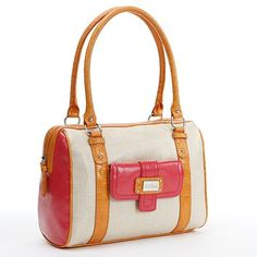 Nine and Co. Colorblock Satchel