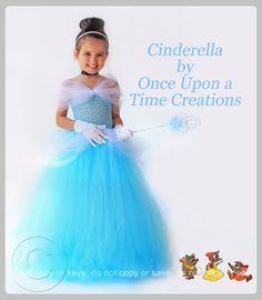 Cinderella Inspired Princess Tutu Dress  by OnceUponATimeTuTus, $49.99