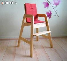 Etetőszék, magas szék, magasszék, fából - Új