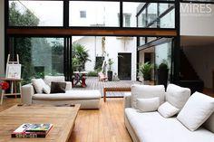 Loft con terrazzo e baldacchino