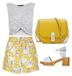 """""""Untitled #562"""" by gabbyriera on Polyvore featuring New Look and Topshop"""