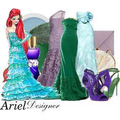 "The Little Mermaid - Ariel - ""DM nerds"" by aksmasads on Polyvore"