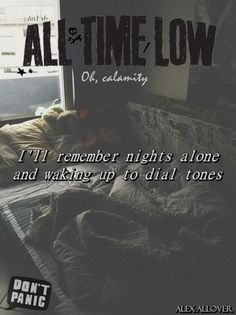 Oh, Calamity ~ All Time Low